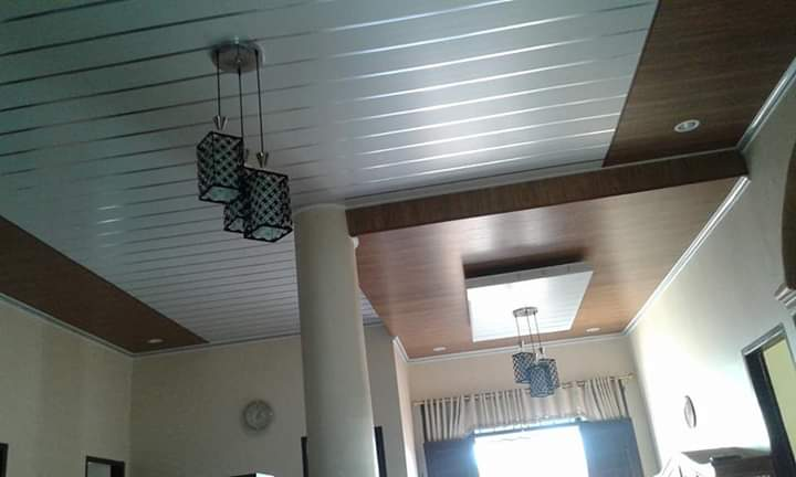 motif plafon PVC