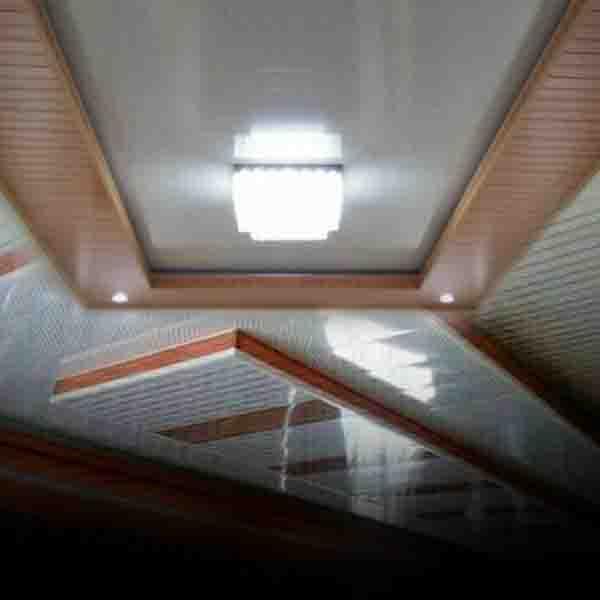 Rumah dengan Plafon PVC